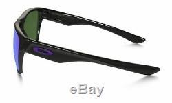New Oakley Sunglasses TwoFace XL OO9350-04 Polished Black Violet Iridium F/Ship