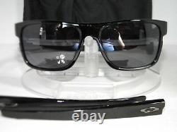 OAKLEY CROSSRANGE SUNGLASSES OO9361-0157 Polished Black / Grey