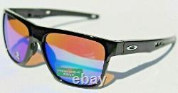 OAKLEY Crossrange XL Sunglasses Polished Black/Prizm Golf NEW OO9360-0458