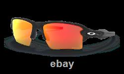 OAKLEY FLAK 2.0 XL Sunglasses OO9188-8659 Black Camo Frame With PRIZM Ruby Lens