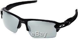 OAKLEY Flak 2.0 XL Sunglasses Matte Black with Black Iridium Polarized OO9188-53