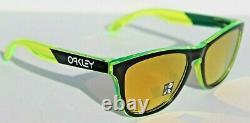 OAKLEY Frogskins Sunglasses Translucent Retina Burn/24K Iridium OO9013 NEW