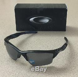 OAKLEY HALF JACKET 2.0 XL OO9154-05 Polished Black Iridium Polarized Sunglasses