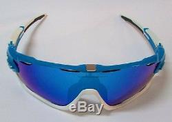 OAKLEY JAWBREAKER Sunglasses OO9290-02 Sky Blue Sapphire Iridium Aerodynamic NEW