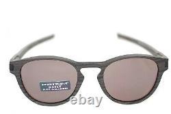 OAKLEY LATCH POLARIZED WOODGRAIN COLLECTION OO9265-12 Men Sunglasses PRIZM DAILY