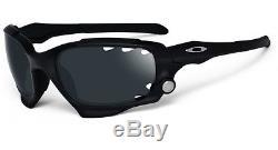 Oakley Mens Jawbone Sunglasses 04-207 Matte Black Iridium Vented New