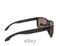 OAKLEY OO9102-B7 HOLBROOK Sunglasses Woodgrain Prizm Daily Polarized 57mm