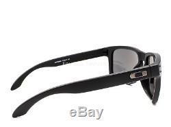 OAKLEY OO9102-D655 HOLBROOK Sunglasses Matte Black Prizm Black Polarized