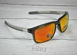 OAKLEY OO9384 07 Holbrook Mix Grey Smoke Prizm Ruby Polarized 57 Mens Sunglasses