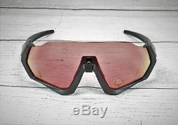 OAKLEY OO9401 17 Flight Jacket Steel Prizm Trail Torch 37 mm Men's Sunglasses