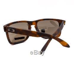OAKLEY OO9417 0259 HOLBROOK XL Sunglasses Matte Tortoise Prizm Black Polarized