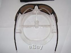 OAKLEY POLARIZED CARBON SHIFT SUNGLASSES OO9302-05 MATTE BLACK / TUNGSTEN fiber