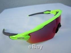 a952af1a95b Oakley Radar Ev Pitch Uranium Sunglasses Cycling Mtb Bike Prizm Road Neon  New