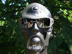 OAKLEY SI BATWOLF Sunglasses Cerakote Mil Spec Green / Black Iridium Polarized