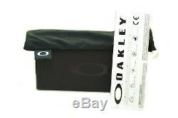 OAKLEY SQUARE WIRE POLARIZED OO4075-06 Men Metal Sunglasses TUNGSTEN IRIDIUM New