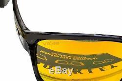 OAKLEY Silver Valentino Rossi VR46 Signature Sunglasses Polished Black / Iridium
