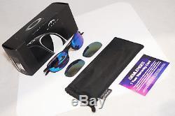 OAKLEY Vintage Mens Designer Mirror Flash Sunglasses Grey Wire 2.0 1 2 14488