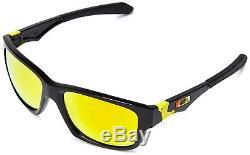 OO9135-11 Mens Oakley Jupiter Squared Sunglasses VR46 Polish Black Fire Irid