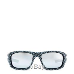 OO9236-10 Mens Oakley Valve Sunglasses Carbon Fiber/Chrome Iridium