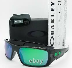 OO9239-02 Mens Oakley Crankshaft Sunglasses Black Frame Jade Iridium Lens