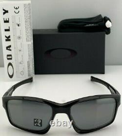 OO9247-09 Mens Oakley Chainlink Sunglasses Black Ink/Black Iridium Polarized