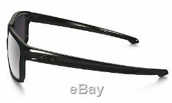 OO9262-07 Mens Oakley Sliver Sunglasses Polished Black Prizm Daily Polarized