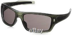 OO9263-19 Mens Oakley Turbine Sunglasses Matte Olive Ink with Warm Grey Lens