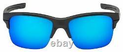 OO9316-04 Mens Oakley Thinlink Sunglasses Dark Grey Sapphire Iridium