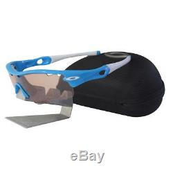 Oakley 09-751 RADAR PATH Sky Blue VR50 Vented Photochromic Mens Sport Sunglasses