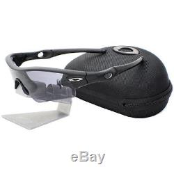 Oakley 11-472 STANDARD ISSUE RADAR PATH Matte Black Grey Mens Sunglasses w Case