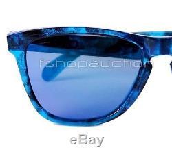 Oakley 24-309 COLLECTORS FROGSKIN Acid Tortoise Black Iridium Mens Sunglasses