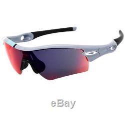 Oakley 26-266 RADAR PATH 30 YEARS LIMITED EDITION Fog + Red Mens Sunglasses RARE