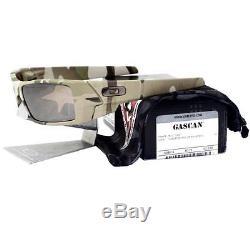 Oakley 53-098 POLARIZED STANDARD ISSUE GASCAN Camo Army Tungsten Mens Sunglasses
