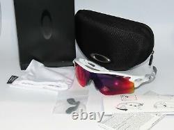 Oakley 9206-27 Radarlock Path Vent A Polished White Prizm Road Sunglasses