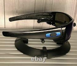 Oakley BATWOLF Sunglasses OO9101-5827 Polished Black With PRIZM Sapphire Iridium