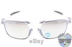 Oakley Badman Sunglasses OO6020-05 X TI with Chrome Iridium Polarized Lenses