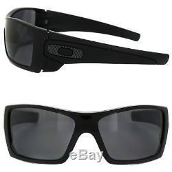 Oakley Batwolf OO9101-04 Mens Matte Black Grey Polarized Lens Sunglasses New