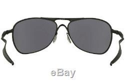 Oakley CROSSHAIR Sunglasses OO4060-03 Matte Black Frame With Black Iridium Lens