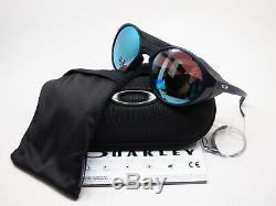 Oakley Clifden OO9440-0556 Matte Translucent Blue Polarized Sunglasses