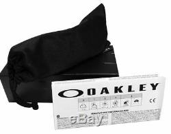 Oakley Crankshaft Matte Clear Violet Iridium Polarized lens OO9239-0960 new HOT