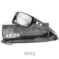 Oakley Crankshaft OO9239-01 Polished Black/Black Iridium Men's Sport Sunglasses