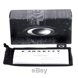 Oakley Crankshaft OO9239-09 Matte Clear/Violet Iridium Polarized Mens Sunglasses