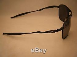 Oakley Crosshair Matte Black w Black Iridium Lens NEW Sunglasses (oo4060-03)