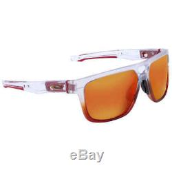 Oakley Crossrange Patch The Mist Prizm Ruby Rectangular Men's Sunglasses OO9382