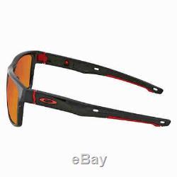 Oakley Crossrange Prizm Ruby Rectangular Asia Fit Men's Sunglasses OO9371 937108