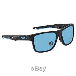 Oakley Crossrange Prizm Sapphire Rectangular Men's Sunglasses OO9361 936113 57