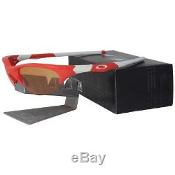 Oakley Custom Half Jacket Blood Orange with Persimmon Lens Mens Sports Sunglasses