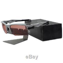 Oakley Custom POLARIZED FAST JACKET XL Silver G30 Photochromic Mens Sunglasses
