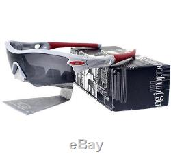 Oakley Custom RADAR PATH Fog Frame Black Iridium Lens Mens OCP Sports Sunglasses