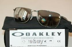 Oakley EJECTOR POLARIZED Sunglasses OO4142-0358 Carbon Frame With PRIZM Black NEW